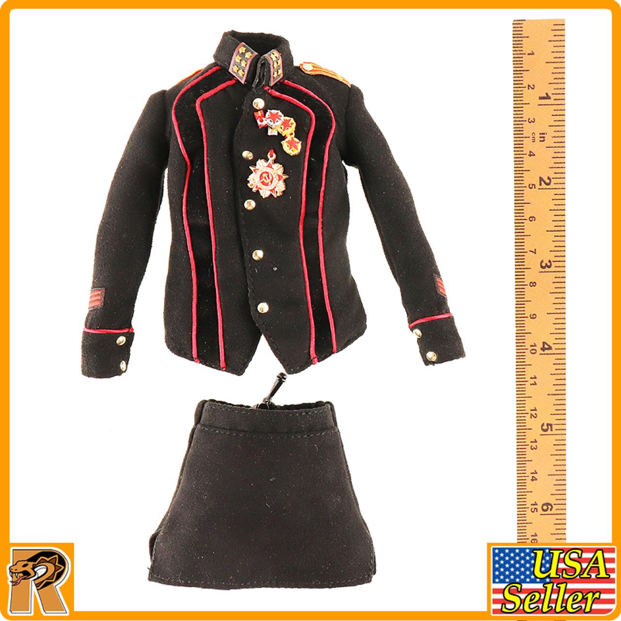 Katyusha Red Alert Soviet Female - Skirt Uniform Set - 1/6 Scale -