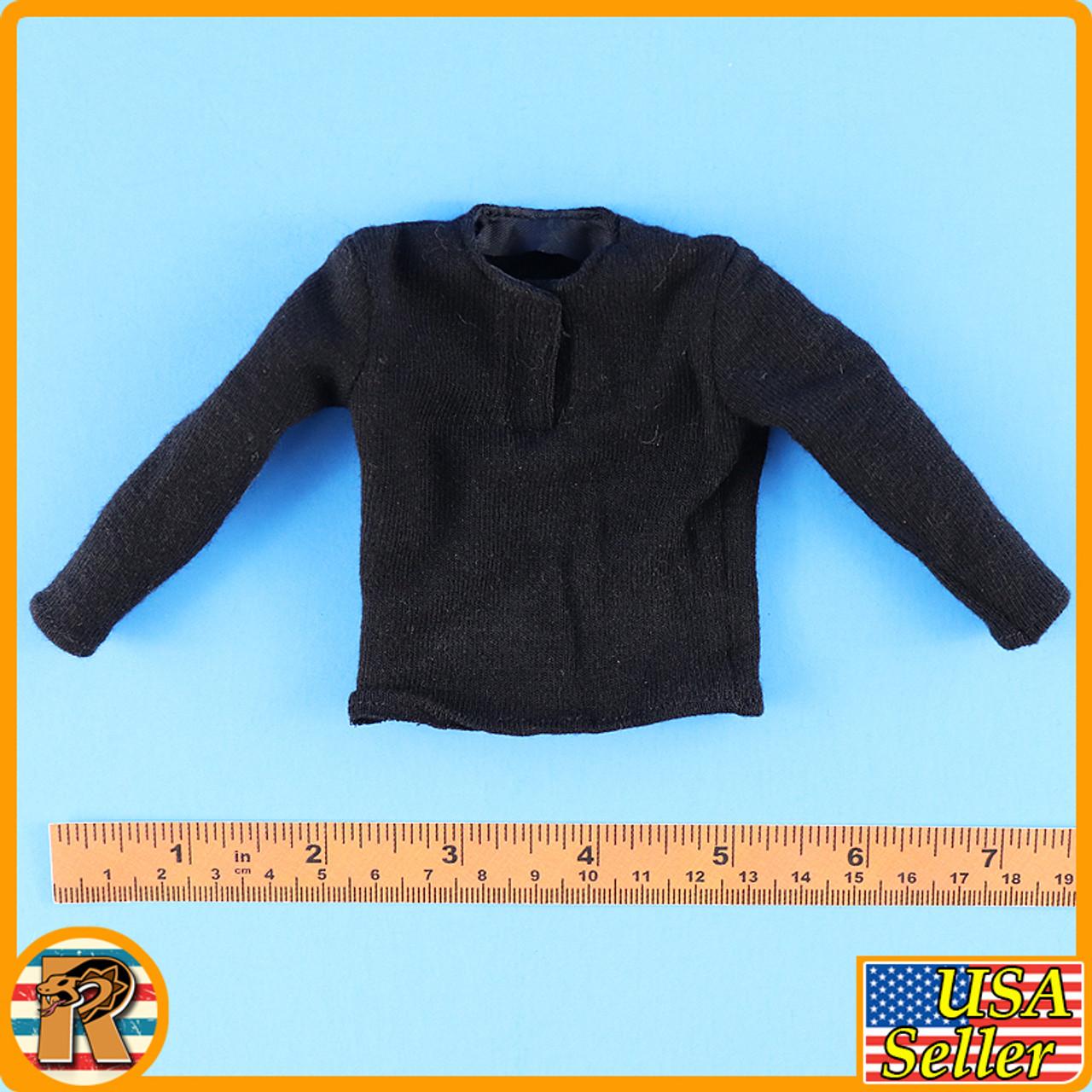 1938 Battle of Hailar - Black Long Sleeve Shirt - 1/6 Scale -