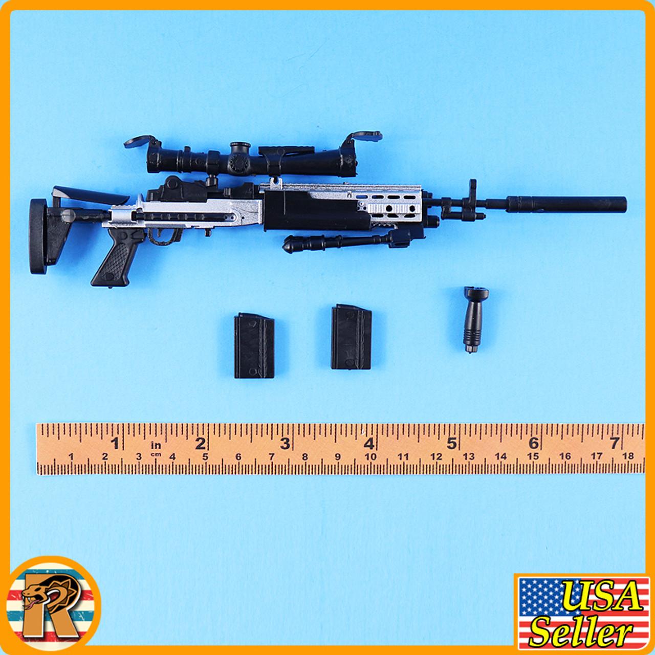4D - MK14 Sniper Rifle #3 - Model Kit - 1/6 Scale -