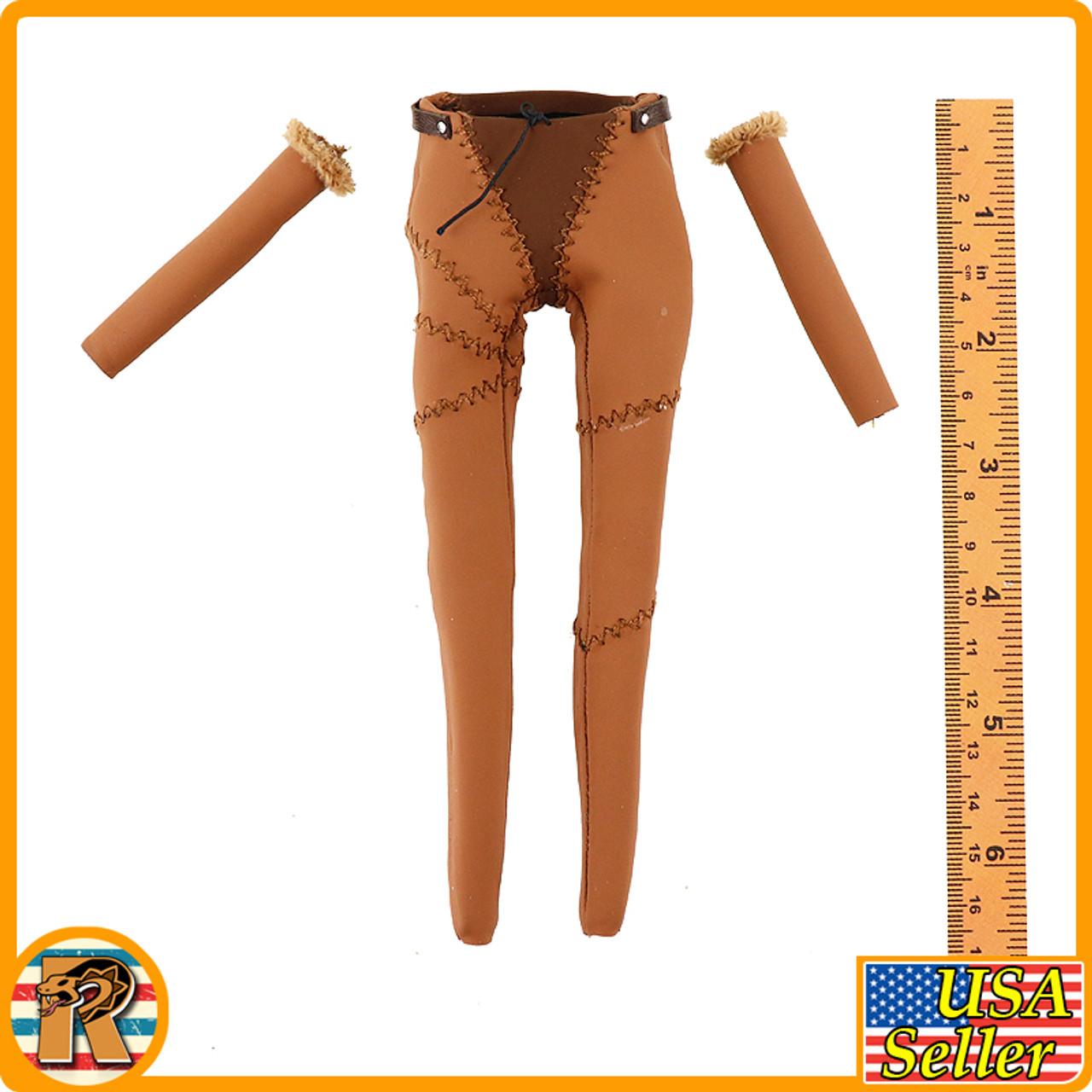 Garona Halforcen Female Orc - Pants & Arm Sleeves *READ* - 1/6 Scale -