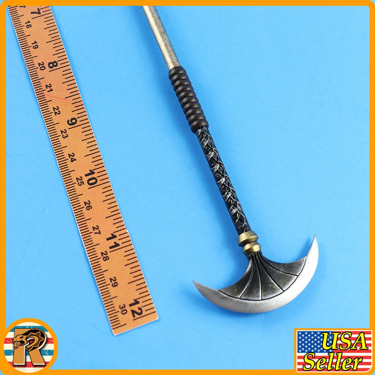 Month Deity of War (SILVER) - Long Scepter - 1/6 Scale -