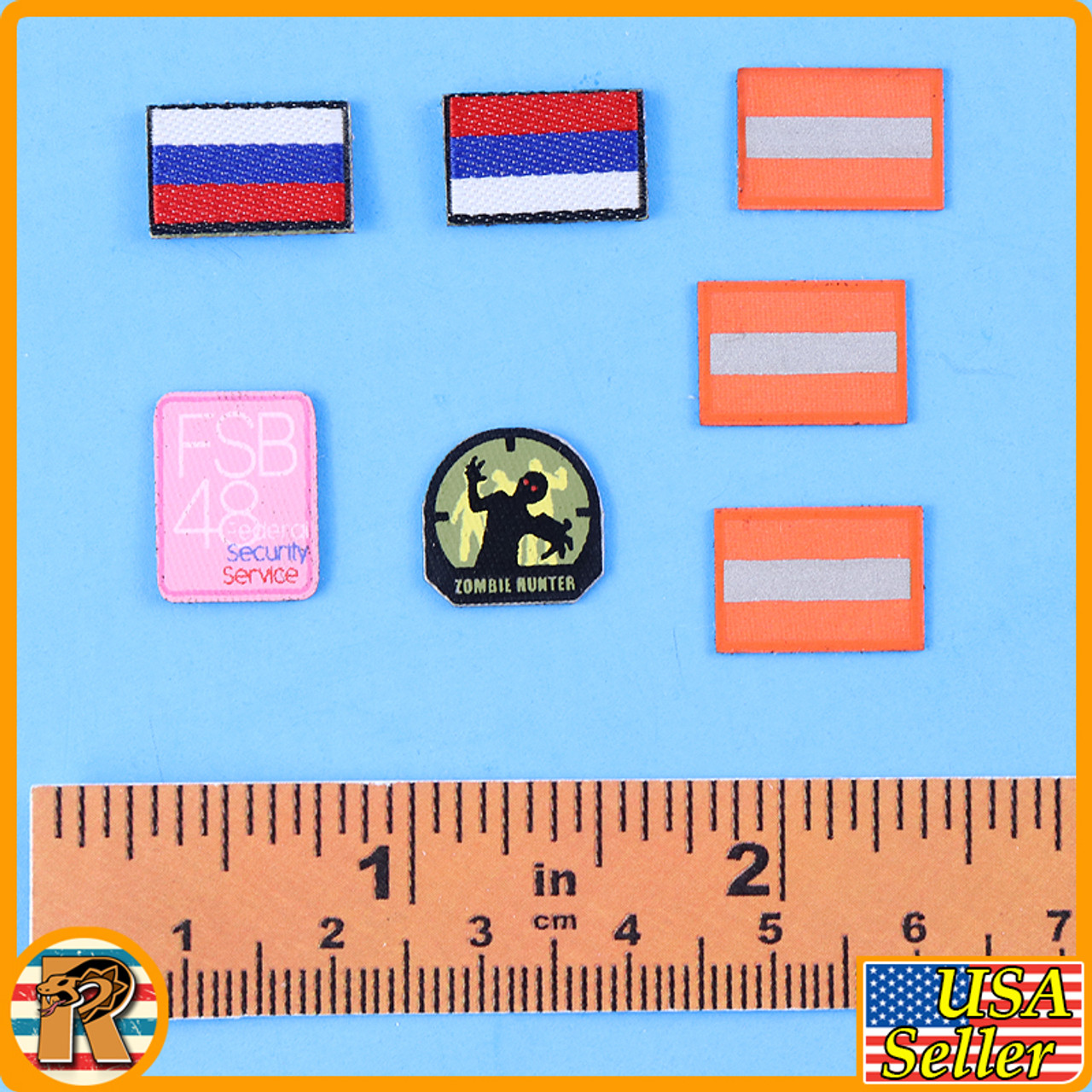 Miss Spetsnaz - Patches Set - 1/6 Scale -