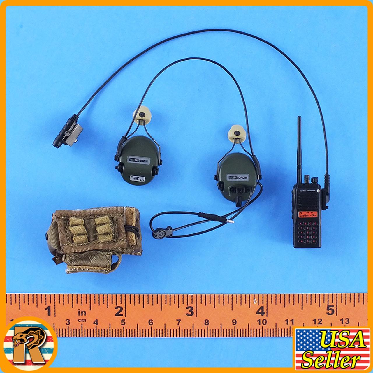 Tong Li Red Sea Corpsman - Radio & Headsets - 1/6 Scale -