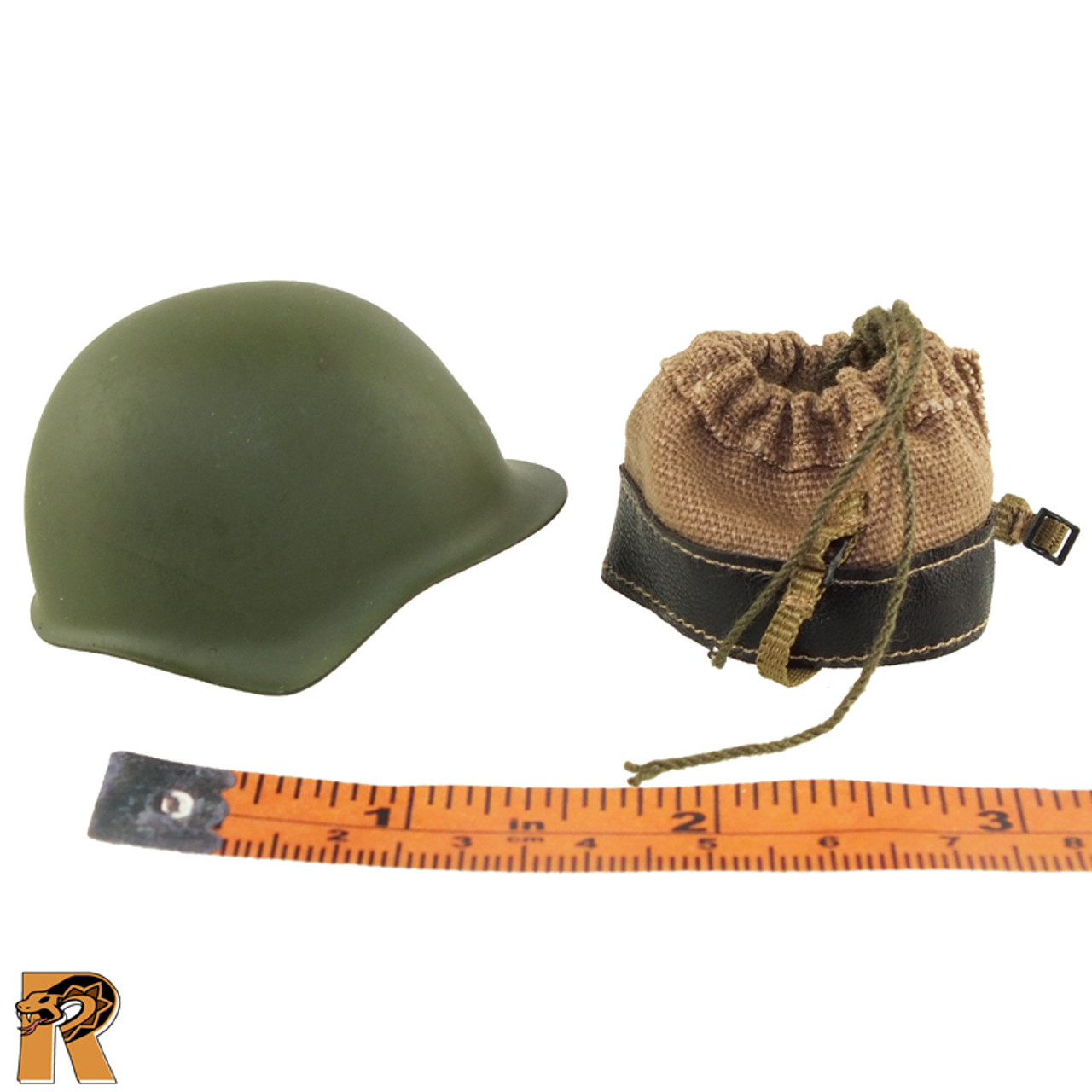 Soviet Red Navy - Helmet & Liner - 1/6 Scale