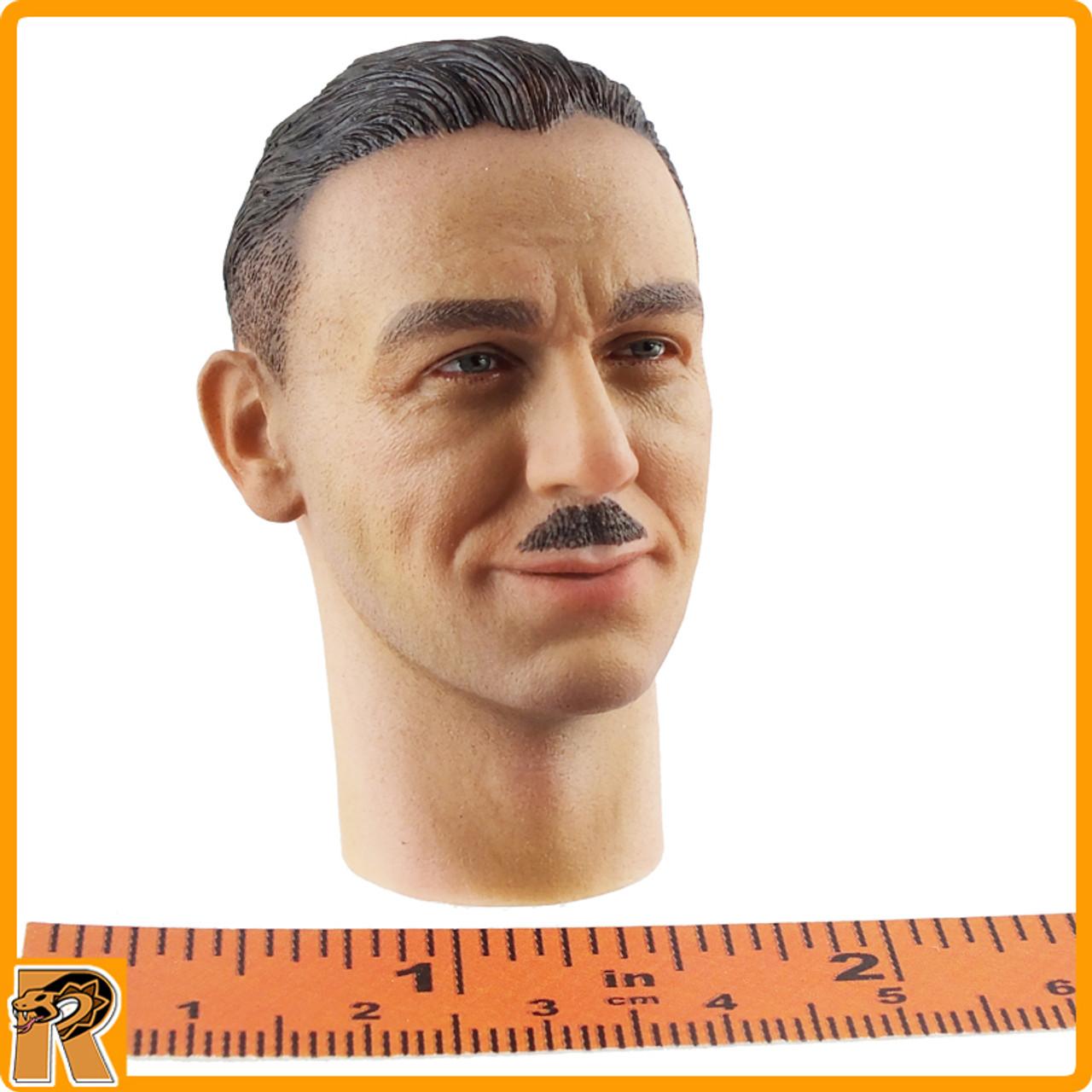 Kurt Meyer - Smiling Head w/ Mustache - 1/6 Scale -