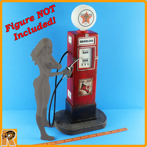 Vintage Gas Pump - for 1/6 Scale Figures
