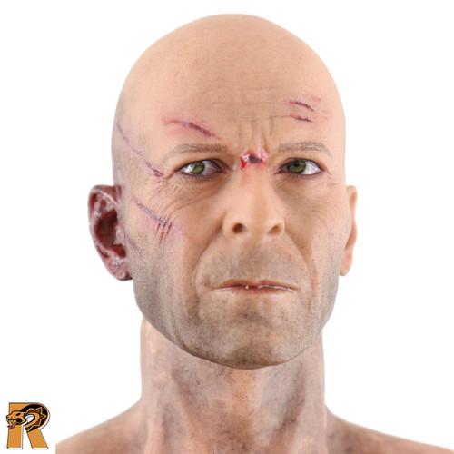 Die Hard Johnny 2.0 - Nude Figure (bloody & Worn) - 1/6 Scale