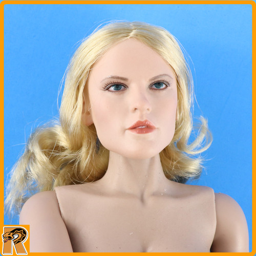 Afrika Female Officer - Female Nude Figure w/ Blonde Hair - 1/6 Scale -
