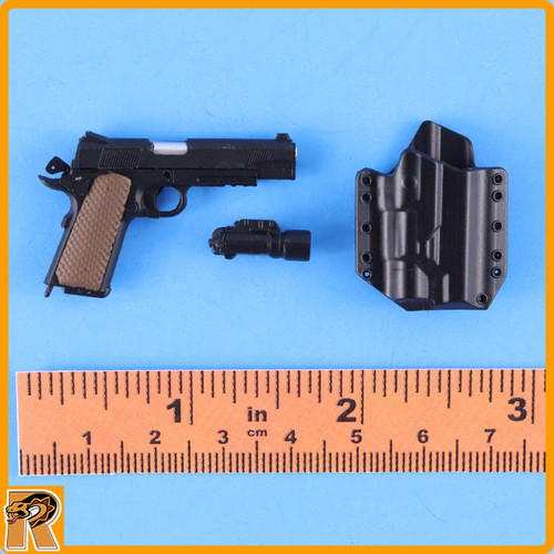 Mini Times Action Figures 1//6 Scale Knee Pads CIA Armed Agents