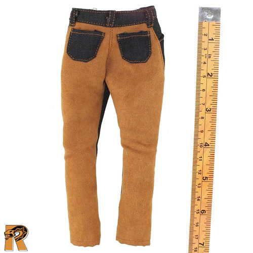 Redhead Denny - Jeans & Leather Pants - 1/6 Scale -