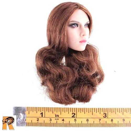 CT014 Military Female - Head w/ Long Hair B - 1/6 Scale -