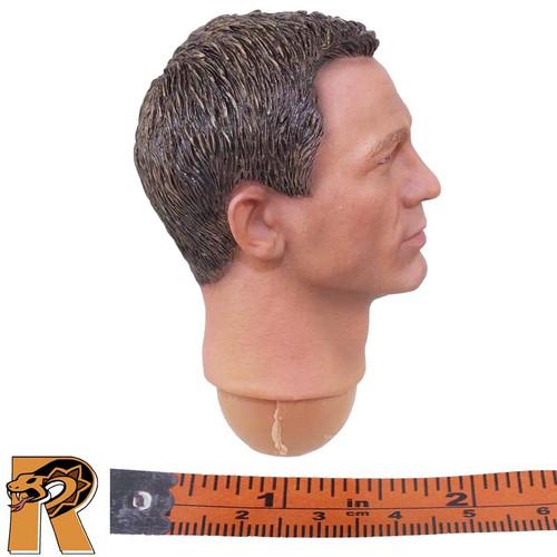 Spectre James Bond - Head (Daniel Craig) - 1/6 Scale -