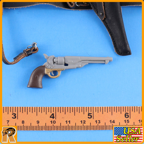 General George Pickett - Revolver & Belt Set - 1/6 Scale -