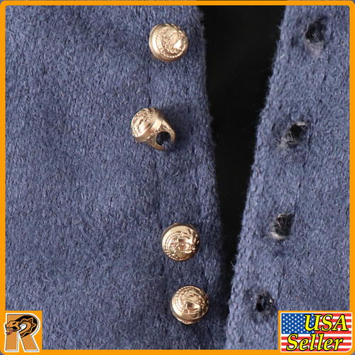 General George Pickett - Vest (Real Buttons) - 1/6 Scale -