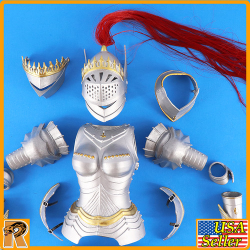 Crown Knight - Female Full Metal Armor Set - 1/6 Scale -