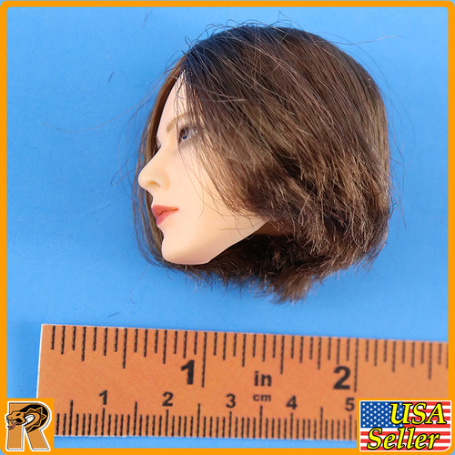 Crown Knight - Female Head w/ Rooted Hair - 1/6 Scale -