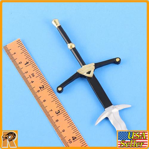 Crown Knight - Metal Long Sword #1 - 1/6 Scale -