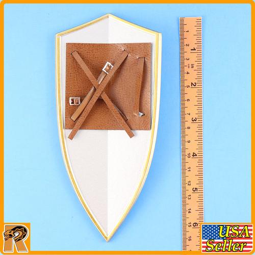 Crown Knight - Metal Shield - 1/6 Scale -