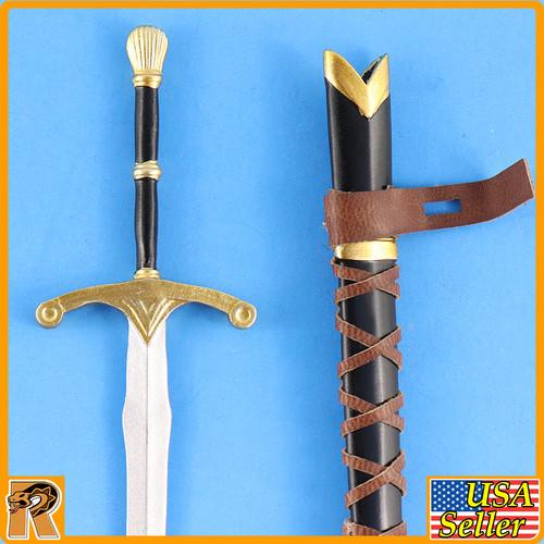 Crown Knight - Metal Sword & Sheath - 1/6 Scale -