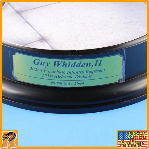 Guy Whidden II Airborne - Display base - 1/6 Scale -
