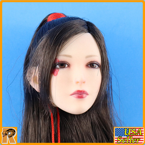 Nohime Japanese Heroine - Female Head w/ Rooted Hair - 1/6 Scale -