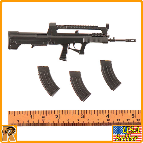QZB95 Rifle Set 1//6 Scale People/'s Armed Police KADHobby Action Figures