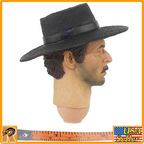 Bad Cowboy V3 - Head w/ Hat & Neck - 1/6 Scale -