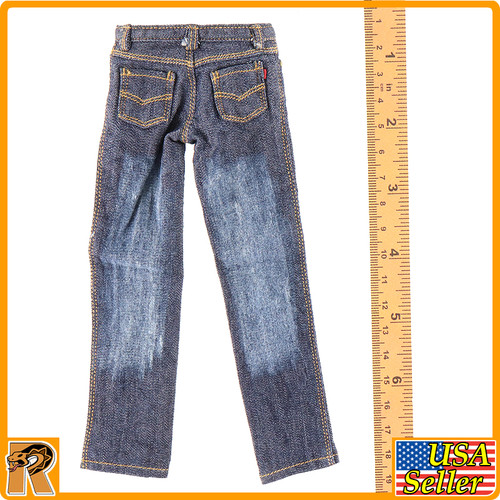 CEN-M08 - Mens Blue Jeans Pants - 1/6 Scale -