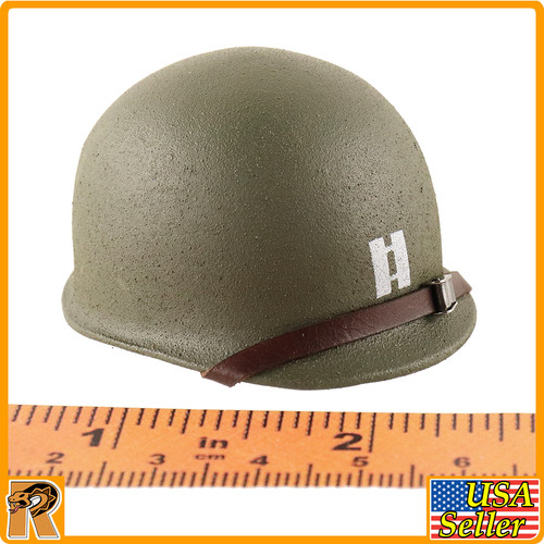 US Ranger Captain Miller - Metal Captain Helmet - 1/6 Scale -