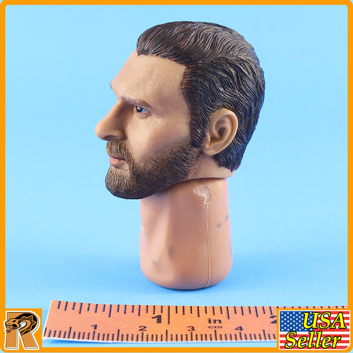 Persian Empire Soldier - Head w/ Neck *STAINS* - 1/6 Scale -