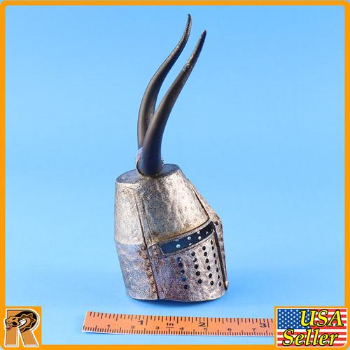 Crusader Knight Jihad - Metal Helmet #3 - *EXCLUSIVE* 1/6 Scale -