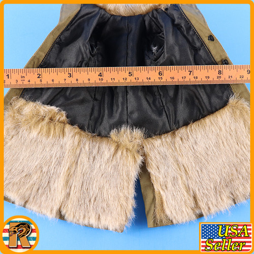 1938 Battle of Hailar - Fur Lined Coat - 1/6 Scale -