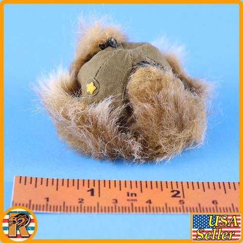 1938 Battle of Hailar - Fuzzy Winter Hat #1 - 1/6 Scale -