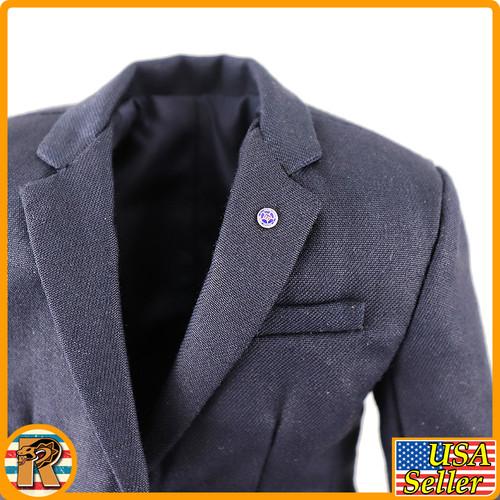 Mark Secret Service - Blue Suit - 1/6 Scale -