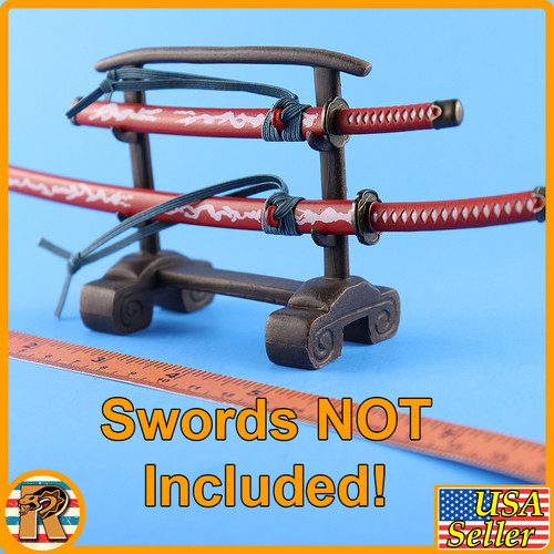Katana - 2 Tier Sword Stand - 1/6 Scale -