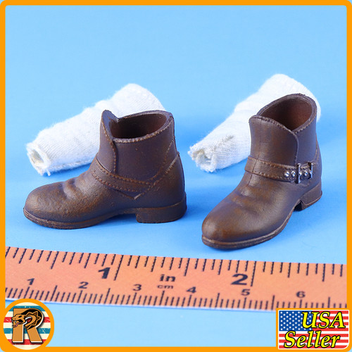 Professional Partner - Shoes & Socks *Teenage Size* - 1/6 Scale -