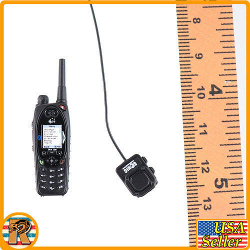 GIPN French National Police - Tactical Radio Set - 1/6 Scale -