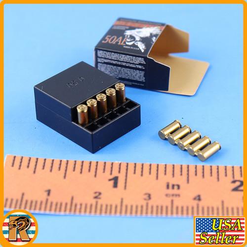 Desert Eagle Pistol - Bullet Box *TOY*  *READ* - 1/6 Scale -