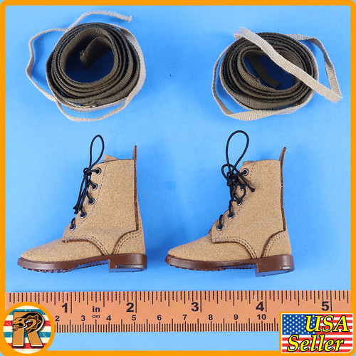 Okinawa 1945 - Boots & Leggings (for Feet) - 1/6 Scale -