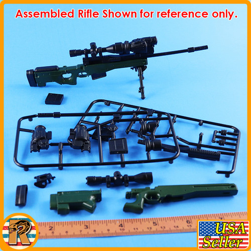 4D - AWM Sniper Rifle #1 - Model Kit - 1/6 Scale -