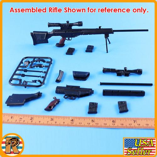 4D - PSG1 Sniper Rifle #4 - Model Kit - 1/6 Scale -