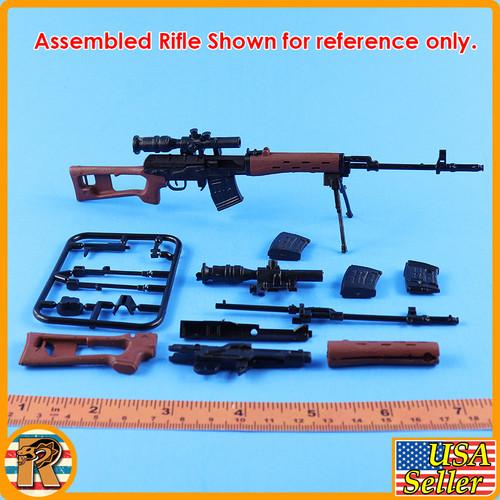 4D - SVD Sniper Rifle #5- Model Kit - 1/6 Scale -
