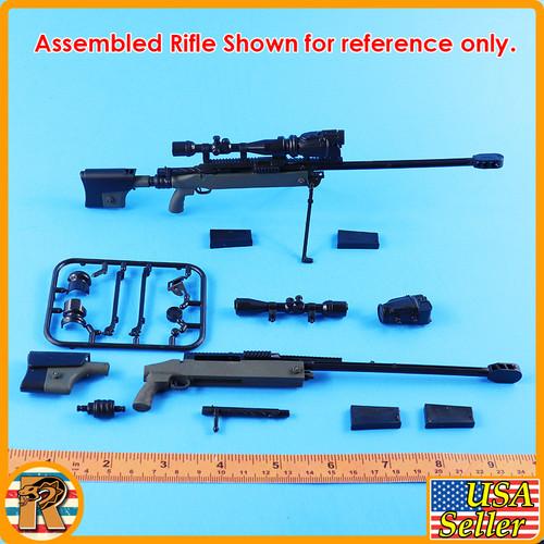 4D - TAC 50 Sniper Rifle #6- Model Kit - 1/6 Scale -