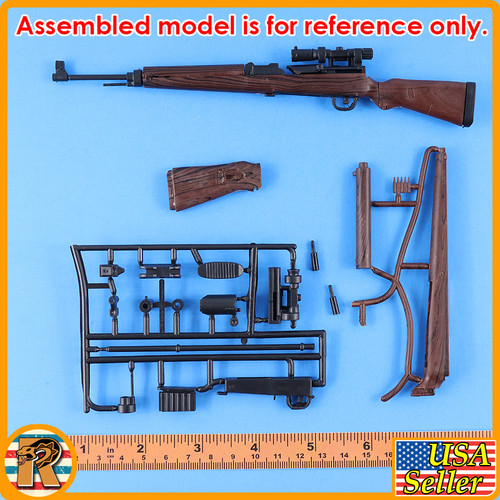 4D - Gewehr Rifle #7 - Model Kit - 1/6 Scale -