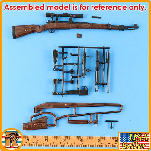 4D - KAR 98 Rifle #8 - Model Kit - 1/6 Scale -