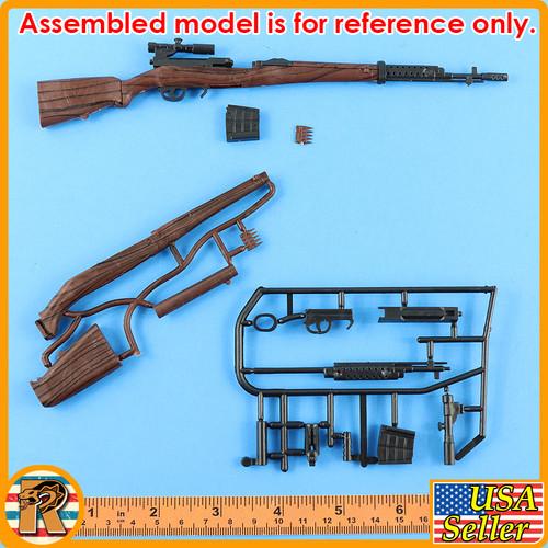 4D - SVT40 Sniper Rifle #12- Model Kit - 1/6 Scale -