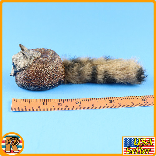 Red Death Wilderness Rider - Coon Skin Cap - 1/6 Scale -