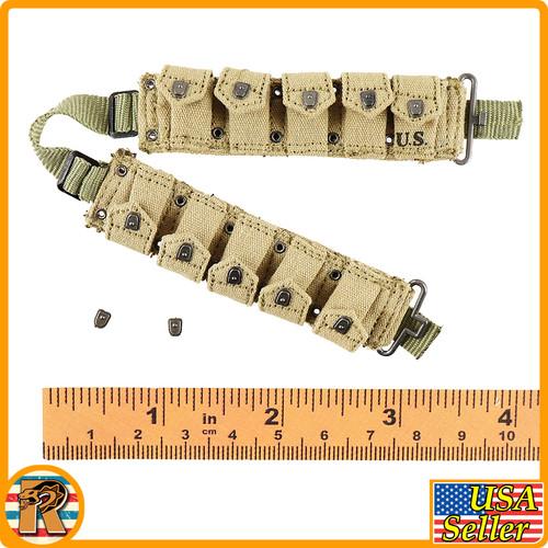 US Ranger Private Sniper - Ammo Belt - 1/6 Scale -