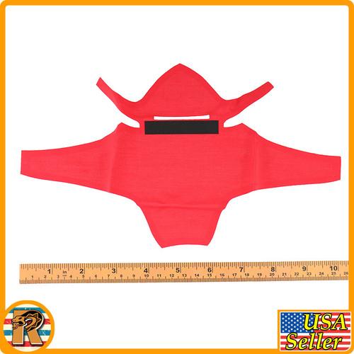 Undead Ninja 006 - Red Full Ninja Clothes Set #2 - 1/6 Scale -