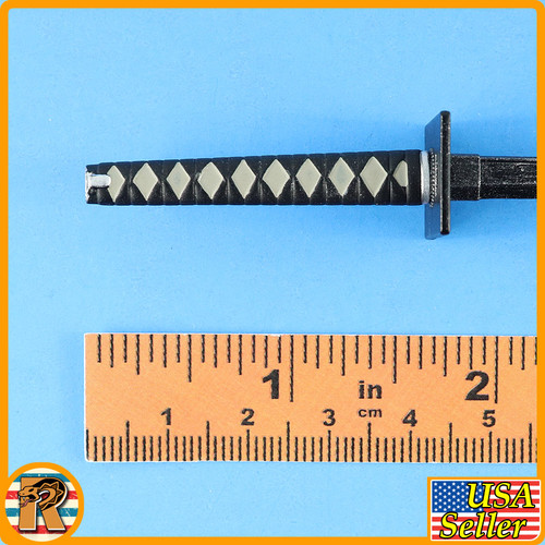 Undead Ninja 006 - Metal Samurai Sword - 1/6 Scale -